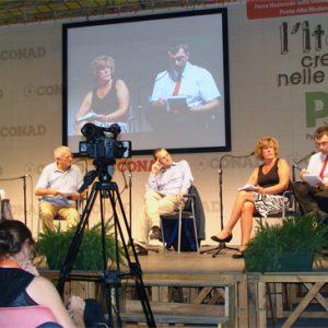Diskussionsveranstaltung der Partito Democatico Italia in Modena