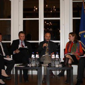 Podiumsdisskussion in der Hessischen Landesvertretung