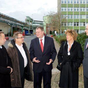 Europaabgeordnete zu Gast im CHEMPARK