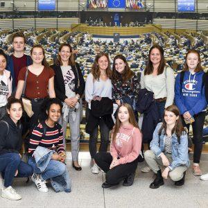 Besuchergruppe Carl-Fuhlrott-Gymnasium Wuppertal